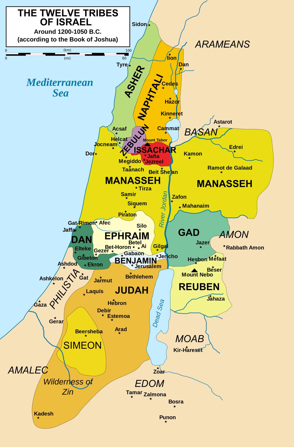 La Palestine du temps de Jésus